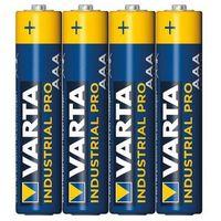 Monitory oddechu, Baterie alkaliczne VARTA Industrial AAA LR3 4szt - alkaliczna ||LR03