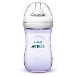Butelka dla niemowląt Philips AVENT Natural 260 ml Purpurowa