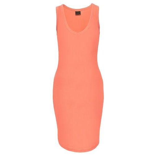 Suknie i sukienki, Sukienka shirtowa bonprix łososiowy
