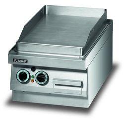 Płyta grillowa elektryczna, gładka, 3,4 kW, 400x650x270 mm | LOZAMET, LEB230