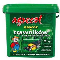 Nawóz do trawników szybki efekt dywanowy Agrecol 5kg