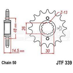 Zębatka przednia JT F339-17, 17Z, rozmiar 530 2200153 Honda CBR 1000, VFR 800