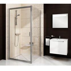 Ravak Blix ścianka stała jednoczęściowa BLPS-90, wys. 190 cm, Polerowane aluminium +Grafit 9BH70C00ZH