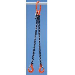 Łańcuch zawieszany HIT - klasa jakości 10, 2-cięgnowe, gr. łańcucha 6 mm, dł. uż