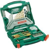 Bity i końcówki, Zestaw wierteł i bitów Bosch X-Line, 70 szt.