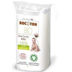 BOCOTON Ekologiczne płatki kosmetyczne BIO owalne maxi 90x110mm / 60szt
