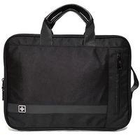 """Pokrowce, torby, plecaki do notebooków, SwissBags BEX torba / etui na laptopa 14"""" / czarna"""