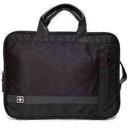 """SwissBags BEX torba / etui na laptopa 14"""" / czarna"""