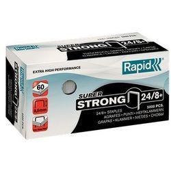 Zszywki Rapid Super Strong 24/8+, opakowanie 5000 szt. - Autoryzowana dystrybucja - Szybka dostawa
