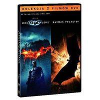 Pakiety filmowe, Batman początek / Mroczny Rycerz (4 DVD, Pakiet kolekcjonerski) (Płyta DVD)