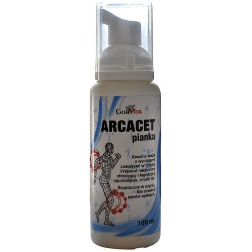 Pozostałe leki przeciwbólowe, Arcacet pianka - 100 ml