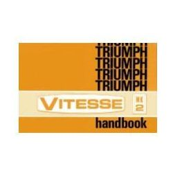 Triumph Vitesse Mk 2 Owners Handbook