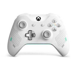 MICROSOFT Kontroler Xbox Sports White Special Edition + 14 dni Xbox Live WL3-00083