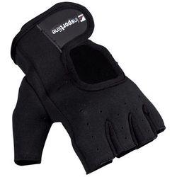 Neoprenowe rękawice do ćwiczeń fitness inSPORTline Aktenvero, Czarny, XL