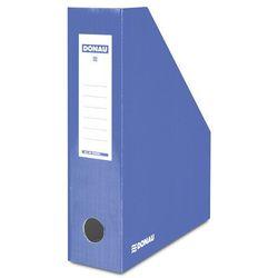 Pojemnik na dokumenty DONAU, karton, A4/80mm, lakierowany, niebieski