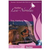 Książki do nauki języka, Hueber Hörbucher: Lese - Novelas (A1):: Tina, Hamburg, Audiobuch, Paket (opr. miękka)