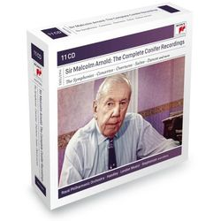 Box: Sir Malcolm Arnold - The Complete Conifer Recordings (CD) - Various Artists