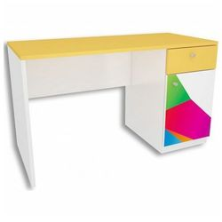 Białe biurko dla dziecka Elif 2X - 5 kolorów