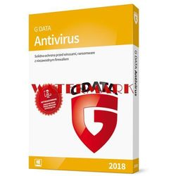 G Data ANTIVIRUS 1PC 1 rok