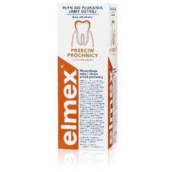 Elmex Płyn do płukania jamy ustnej przeciw próchnicy 400 ml