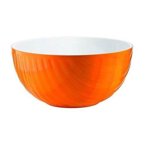 Misy i miski, Miska Mirage, średnica 30.00 cm, pomarańczowa - Ø 30.00 cm