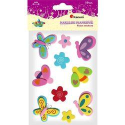 Naklejki piankowe 307579 Kwiaty, motyle - TITANUM