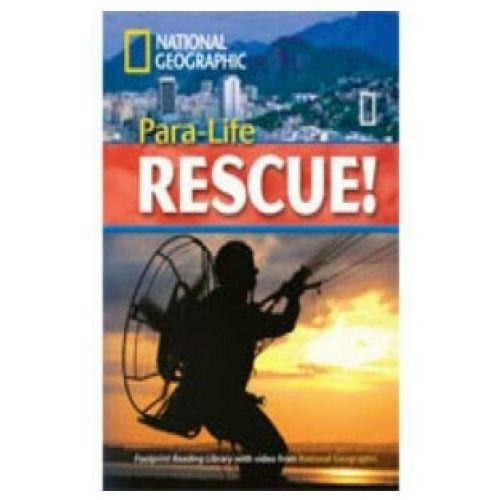 Książki do nauki języka, Para-Life Rescue/National Geographic/CD gratis/ (opr. miękka)