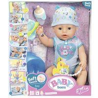 Lalki dla dzieci, Baby born - Lalka interaktywna - Chłopiec