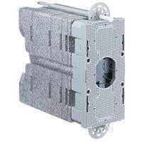 Pozostała elektryka, Systemowa fasadowa płyta montażowa 220 x 100 x 160 - 240 mm