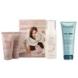 Alfaparf Keratin Therapy Smoothing Treatment Kit and Ciment Anti-Usure | Zestaw do włosów: keratynowe prostowanie włosów + cement odbudowujący 200ml