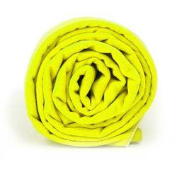 Ręcznik treningowy Dr.Bacty XL neon żółty - neon żółty