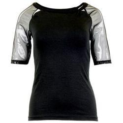 Marina koszulka bawełniana damska Eldar Romantica Active Czarna Letnia I (-7%)