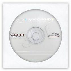 Płyta CD-R ESPERANZA SILVER 700MB/80MIN. KOPERTA 1szt.