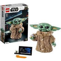 Klocki dla dzieci, 75318 BABY YODA (The Child) - KLOCKI LEGO STAR WARS - WYSYŁKA OD 30.10.2020