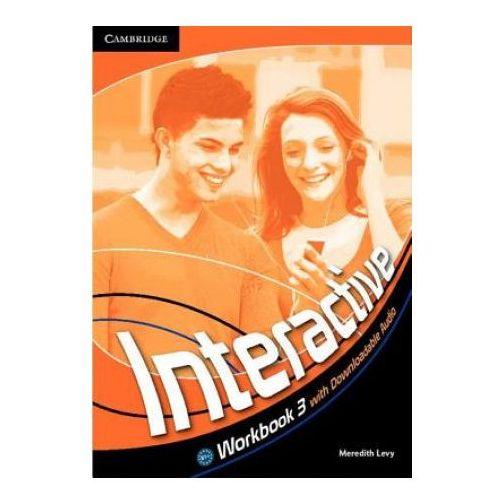 Książki do nauki języka, Interactive 3 Workbook (zeszyt ćwiczeń) with downloadable audio (lp) (opr. twarda)