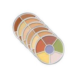 Kryolan, Dermacolor Camouflage Rainbow Set, paleta kamuflaży, 40g