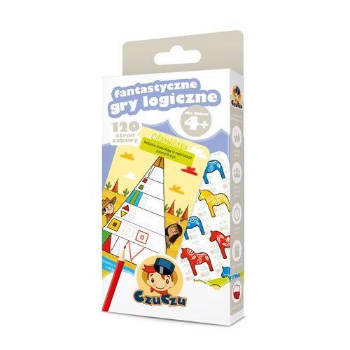 Hobby i poradniki, CzuCzu Fantastyczne gry logiczne 4+ - Wysyłka od 3,99 - porównuj ceny z wysyłką (opr. kartonowa)