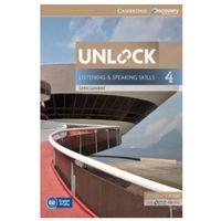Książki do nauki języka, Unlock: Listening & Speaking Skills 4. Podręcznik + Online Workbook (opr. miękka)