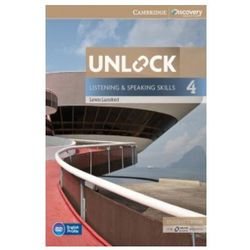 Unlock: Listening & Speaking Skills 4. Podręcznik + Online Workbook (opr. miękka)