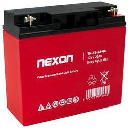 Akumulator żelowy NEXON 22-12 (12V 22Ah)