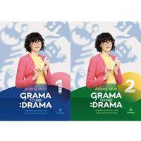 Książki do nauki języka, Grama to nie drama cz.1 i 2 (opr. miękka)