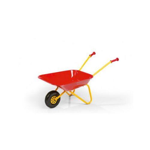 Zabawki do piasku, ROLLY TOYS rolly Taczka metalowa, czerwony 270804