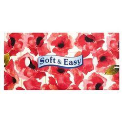 SOFT&EASY 80szt Rosate Chusteczki higieniczne pudełko