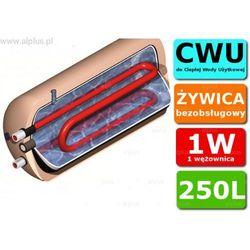 ERMET 250l poziomy z podwójną wężownicą bojler do CWU - podgrzewacz wymiennik bezobsługowy - WYSYŁKA GRATIS