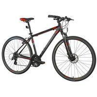 Pozostałe rowery, Rower INDIANA Cross 2.0 M19 Czarno-Czerwony | 5 LAT GWARANCJI NA RAMĘ DARMOWY TRANSPORT