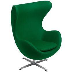 Fotel JAJO KASZMIR zielony