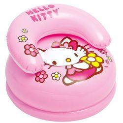 Fotelik dmuchany INTEX Hello Kitty 48508 + Zamów z DOSTAWĄ JUTRO!
