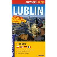 Mapy i atlasy turystyczne, Lublin 1:20 000 kieszonkowy plan miasta (opr. broszurowa)