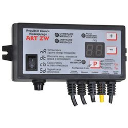 Sterownik zaworu mieszającego, regulator temperatury ART ZW