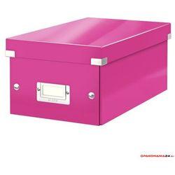 Pudełko na DVD LEITZ C&S WOW różowe 60420023